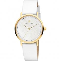 Zegarek kwarcowy w kolorze biało-perłowo-złotym. Białe, analogowe zegarki damskie Esprit Watches, metalowe. W wyprzedaży za 136,95 zł.