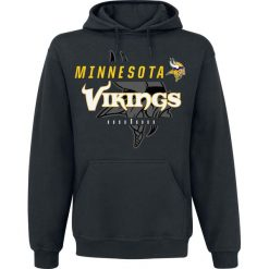 Bejsbolówki męskie: NFL Minnesota Vikings Bluza z kapturem czarny