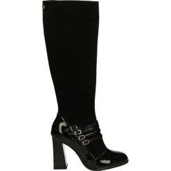 Kozaki - 1729 VE-CA NE. Czarne buty zimowe damskie marki Venezia, ze skóry. Za 339,00 zł.