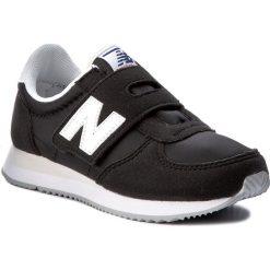 Trampki chłopięce: Sneakersy NEW BALANCE – KV220BWY Czarny