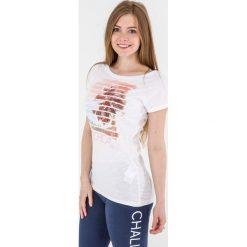 4f Koszulka damska biały r. L (H4L17-TSD009). Białe topy sportowe damskie 4f, l. Za 27,55 zł.