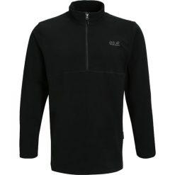 Bejsbolówki męskie: Jack Wolfskin GECKO Bluza z polaru black
