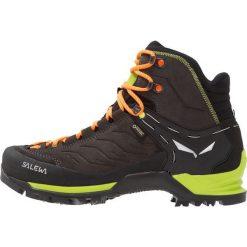 Salewa MTN TRAINER GTX Buty trekkingowe black/sulphur spring. Czarne buty skate męskie Salewa, z gumy, outdoorowe. Za 899,00 zł.