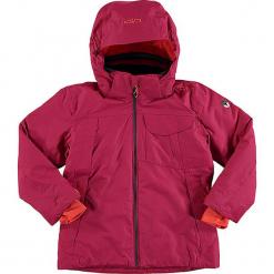 Kurtka narciarska w kolorze jagodowym. Czerwone kurtki dziewczęce przeciwdeszczowe marki Reserved, z kapturem. W wyprzedaży za 172,95 zł.