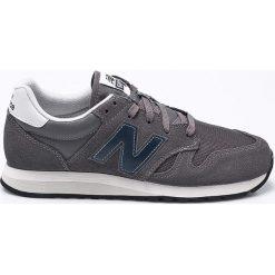 New Balance - Buty U520CL. Szare buty skate męskie New Balance, z gumy, na sznurówki. W wyprzedaży za 269,90 zł.