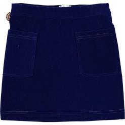 """Spódnica """"Love Is The Message"""" w kolorze niebieskim. Niebieskie spódniczki dziewczęce marki 4FunkyFlavours Kids, mini. W wyprzedaży za 92,95 zł."""