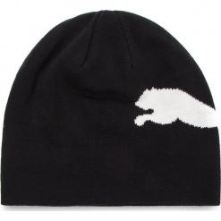 Czapka PUMA - Big Cat Beanie 052925 47 Black/Big Cat White. Czarne czapki męskie Puma, z bawełny. Za 65,00 zł.