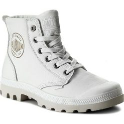 Botki męskie: Trapery PALLADIUM - Pampa Hi Leather 72355-100-M White