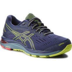 Buty ASICS - Gel-Cumulus 20 G-Tx GORE-TEX 1011A015 Peacoat/Neon Lime 400. Niebieskie buty do biegania męskie Asics, z gore-texu, gore-tex. W wyprzedaży za 459,00 zł.