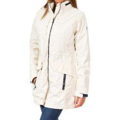 Bomberki damskie: Długa kurtka w kolorze białym