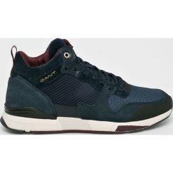 Gant - Buty Andrew. Czarne buty skate męskie GANT, z gumy, na sznurówki. Za 599,90 zł.