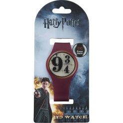 Zegarki męskie: Harry Potter 9 3/4 LED Watch Zegarek na rękę bordowy