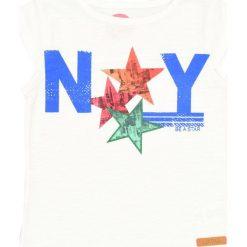 Nativo - Top dziecięcy 104-164 cm. Różowe bluzki dziewczęce marki Mayoral, z bawełny, z okrągłym kołnierzem. W wyprzedaży za 24,90 zł.
