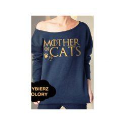 S-xxl wybierz kolory mother of cats bluza z. Niebieskie bluzy z nadrukiem damskie One mug a day, m. Za 145,00 zł.