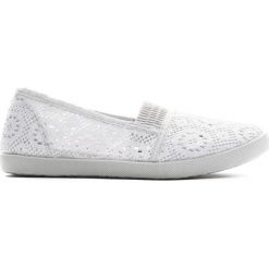 Szare Tenisówki Cuckoo. Szare buty sportowe dziewczęce Born2be, z materiału, z okrągłym noskiem. Za 19,99 zł.