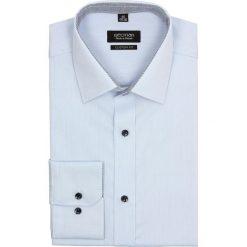 Koszula bexley 2440 długi rękaw custom fit niebieski. Szare koszule męskie na spinki marki Recman, na lato, l, w kratkę, button down, z krótkim rękawem. Za 69,99 zł.