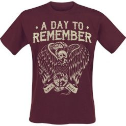 A Day To Remember Vulture T-Shirt brązowy (Maroon). Brązowe t-shirty męskie z nadrukiem marki A Day To Remember, l. Za 74,90 zł.