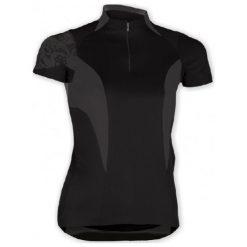 Bluzki, topy, tuniki: Sensor Koszulka Race W Black/Gray S