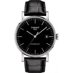 RABAT ZEGAREK TISSOT Everytime Swissmatic T109.407.16.051.00. Czarne zegarki męskie marki TISSOT, ze stali. W wyprzedaży za 1469,60 zł.