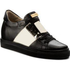 Sneakersy EVA MINGE - Mieres 3M 18BD1372377ES 101. Czarne sneakersy damskie Eva Minge, ze skóry ekologicznej. W wyprzedaży za 239,00 zł.