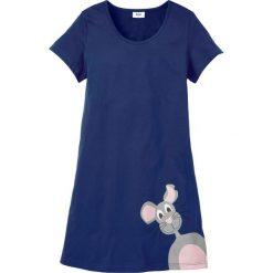 Bielizna nocna: Koszula nocna bonprix kobaltowy