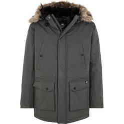 Dickies CURTIS Kurtka zimowa charcoal grey. Szare kurtki męskie zimowe marki Dickies, z dzianiny. W wyprzedaży za 426,75 zł.