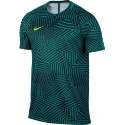 Nike Koszulka męska Dry Football Top SS czarno-zielona r. S (807073 351). Czarne koszulki sportowe męskie marki Nike, m. Za 89,00 zł.