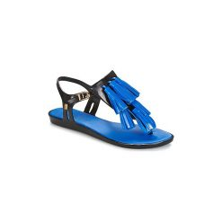 Sandały Melissa  SOLAR + SALINAS II. Niebieskie rzymianki damskie Melissa. Za 343,20 zł.