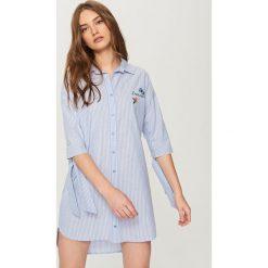 Koszula nocna - Niebieski. Niebieskie koszule nocne i halki marki Reserved. Za 59,99 zł.