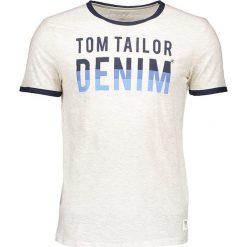 """T-shirty męskie z nadrukiem: Koszulka """"Crewneck Tee"""" w kolorze kremowym"""