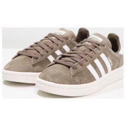Adidas Originals CAMPUS Tenisówki i Trampki branch/footwear white/chalk white. Szare tenisówki damskie marki adidas Originals, z gumy. W wyprzedaży za 341,10 zł.