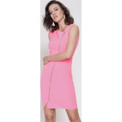 Sukienki: Koralowa Sukienka Fresh Idea