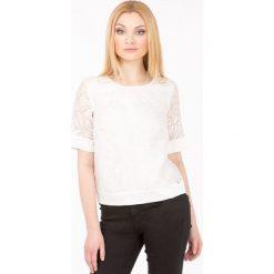 Bluzki damskie: Bluzka z kwiatowym wzorem