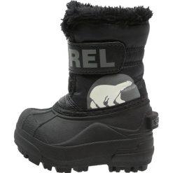 Buty zimowe damskie: Sorel SNOW Śniegowce black