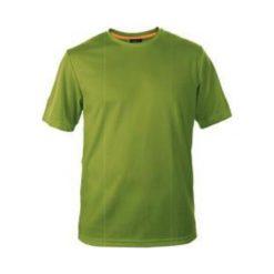 MARTES Koszulka męska Solan Apple Green/Autumn Glory r. L. Zielone t-shirty męskie MARTES, l. Za 21,36 zł.