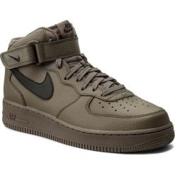 Buty sportowe męskie: Nike Buty męskie Air Force 1 Mid '07 brązowe r. 43 (315123-205)