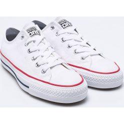 Converse - Tenisówki. Szare tenisówki męskie Converse, z materiału, na sznurówki. W wyprzedaży za 242,91 zł.