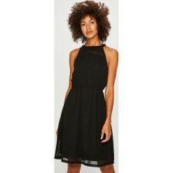 Only - Sukienka. Brązowe sukienki mini marki ONLY, na co dzień, s, z tkaniny, casualowe, na ramiączkach. Za 169,90 zł.