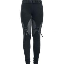 Spodnie damskie: Gothicana by EMP Built For Comfort Legginsy czarny