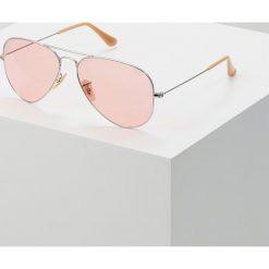 RayBan AVIATOR LARGE METAL Okulary przeciwsłoneczne silvercoloured. Szare okulary przeciwsłoneczne damskie aviatory marki Ray-Ban, z materiału. Za 719,00 zł.