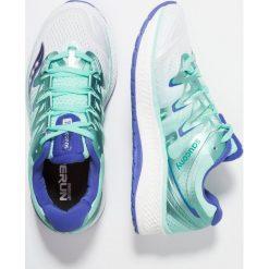 Saucony TRIUMPH ISO 4 Obuwie do biegania treningowe white/aqua. Białe buty do biegania damskie Saucony, z materiału. Za 719,00 zł.