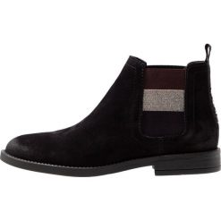 Tommy Jeans ESSENTIAL CHELSEA Ankle boot black. Czarne botki damskie skórzane Tommy Jeans. Za 599,00 zł.