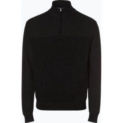 Nils Sundström - Sweter męski, czarny. Czarne swetry klasyczne męskie Nils Sundström, m, z klasycznym kołnierzykiem. Za 179,95 zł.