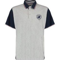 Koszulki polo: Santa Monica MYERS Koszulka polo grey/navy