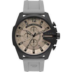 Zegarek DIESEL - Mega Chief DZ4496 Grey/Grey. Szare zegarki męskie Diesel. Za 1199,00 zł.