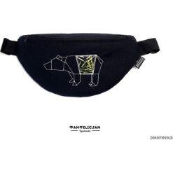 Torebki klasyczne damskie: nerka saszetka niedźwiedź – standard