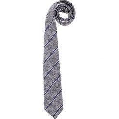 Krawaty męskie: Krawat w kolorze granatowym – 150 x 6,5 cm
