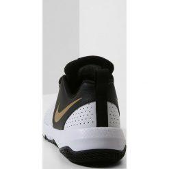 Nike Performance TEAM HUSTLE QUICK Obuwie do koszykówki black/metallic gold/white. Czarne buty skate męskie Nike Performance, z materiału. Za 189,00 zł.