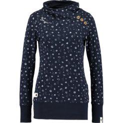 Bluzki asymetryczne: Ragwear NEST Bluzka z długim rękawem navy