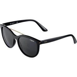 VOGUE Eyewear Okulary przeciwsłoneczne black. Czarne okulary przeciwsłoneczne damskie aviatory VOGUE Eyewear. Za 449,00 zł.